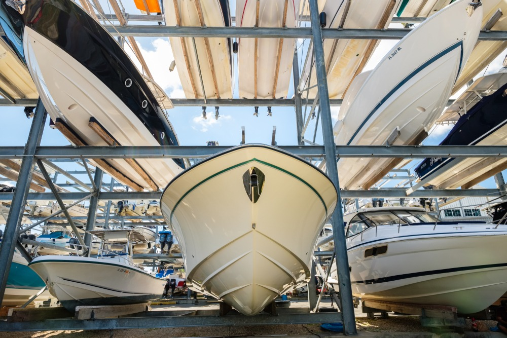 Why Join a Boat Club Reason #4: No More Storage Worries